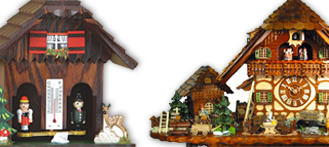 The shop fro Black Forest Cuckoo Clocks